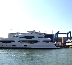 First images of New 'Sunseeker 131 Yacht' Motor Yacht Hull no.1