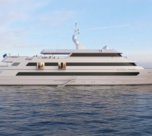 Brand-New 60m KATINA Superyacht Available for Croatia and Montenegro Yacht Charter
