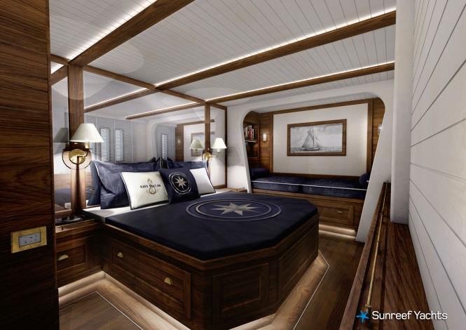 Lucy Z Yacht - Cabin