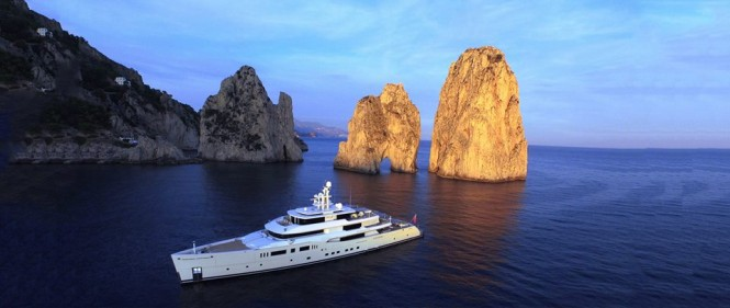 Luxury motor yacht GRACE E - Image by Perini Navi