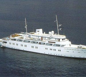 Classic 58m Motor Yacht LADY K II for sale as a turn-key project by Solent Refit