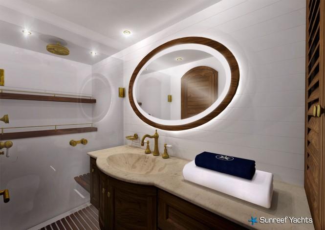 Luxury yacht Lucy Z - Bathroom