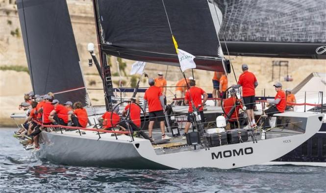 Maxi 72 Yacht MOMO - Photo by Rolex Carlo Borlenghi