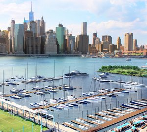 ONE°15 Brooklyn Marina - The newest marina in New York City to accommodate Private Yachts and Charter Yacht up to 250'