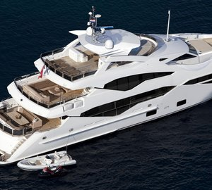 New Sunseeker 131 Yacht hits the water