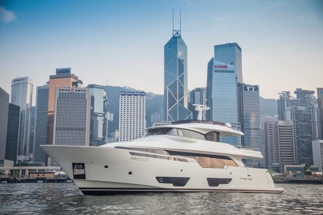 Super Yacht NAVETTA 28 by Custom Line in Hong Kong