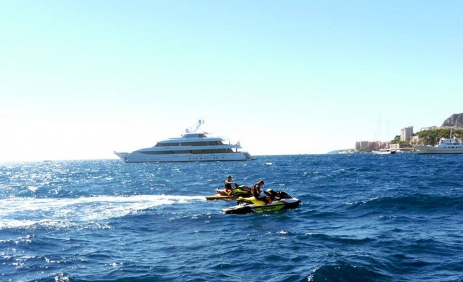 Superyacht LADY BRITT - Photo by Dirk-Jan Vermeij and Feadship Fanclub