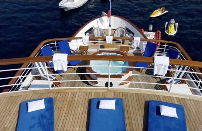 Superyacht Lady K II - Exterior
