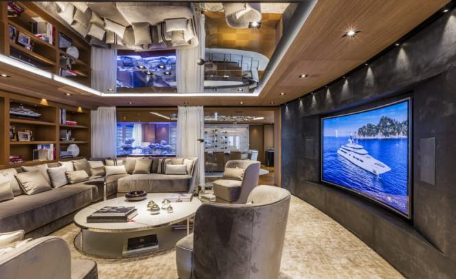 Superyacht SUERTE - Interior - Image courtesy of Tankoa Yachts