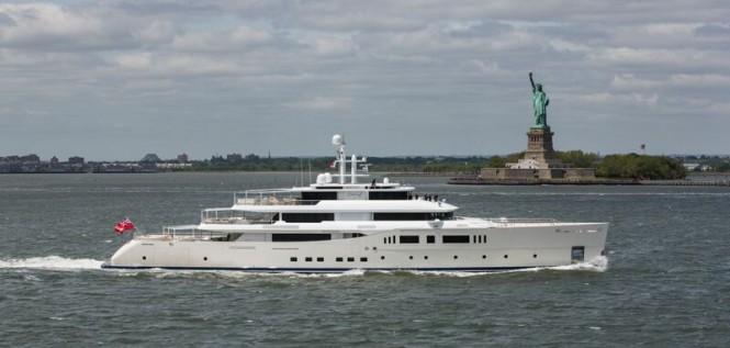 73m Picchiotti Yacht GRACE E in New York