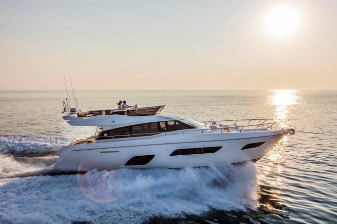Ferretti 550 Yacht