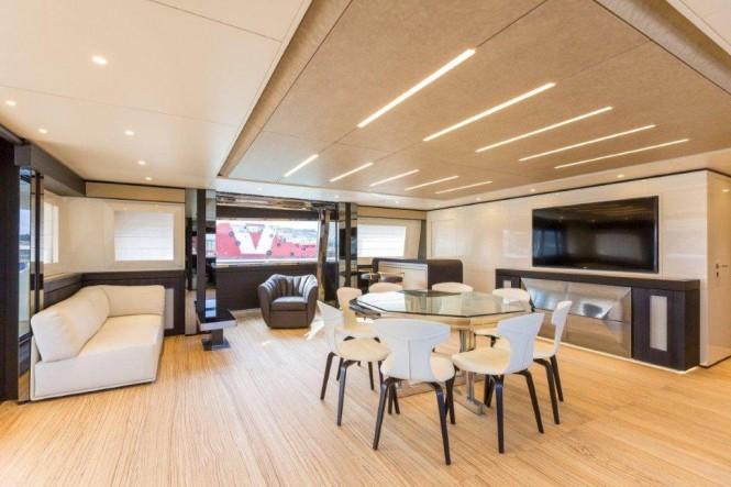 Luxury yacht GENESI - Dining