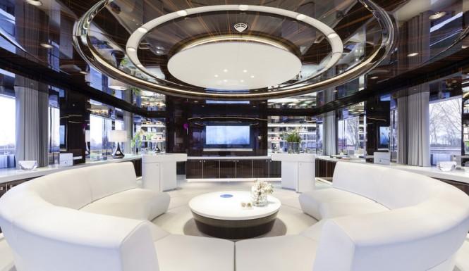 Luxury yacht MySky - Saloon