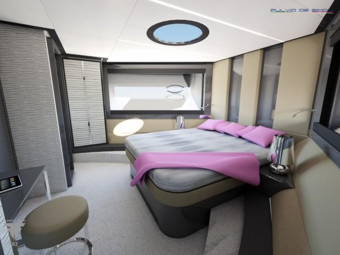 Motor Yacht F93 - VIP Cabin