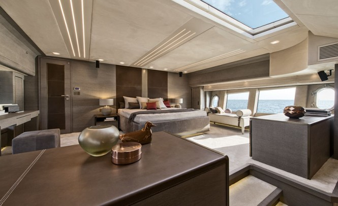 Motor yacht G - Owners cabin