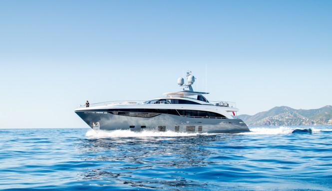 Princess 35M Yacht ANTHEYA III - Photo credit Quin BISSET