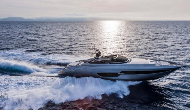 Riva 88 Florida Yacht underway