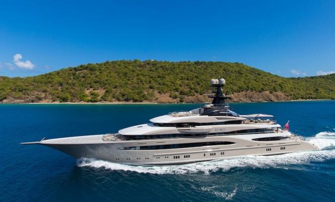 Superyacht Kismet - Photo by Guillaume Plisson