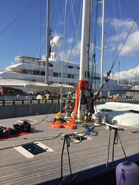 Vaton 100 sailing yacht BLUE DIAMOND
