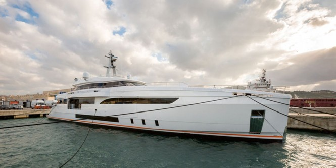 Wider 150 Yacht GENESI just launched
