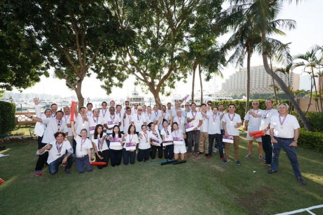 A very successful inaugural Azimut Benetti YachtMaster Asia event
