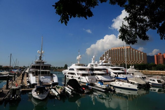 Azimut Benetti YachtMaster Asia hosted by Kee Club in Honk Kong