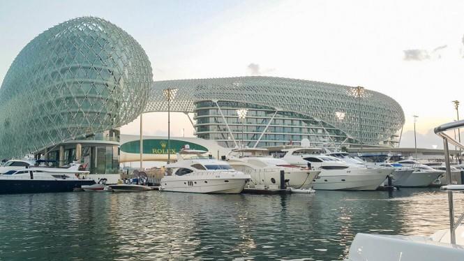 Gulf Craft's Yachts at the 7th Formula 1 Etihad Airways Abu Dhabi Grand Prix