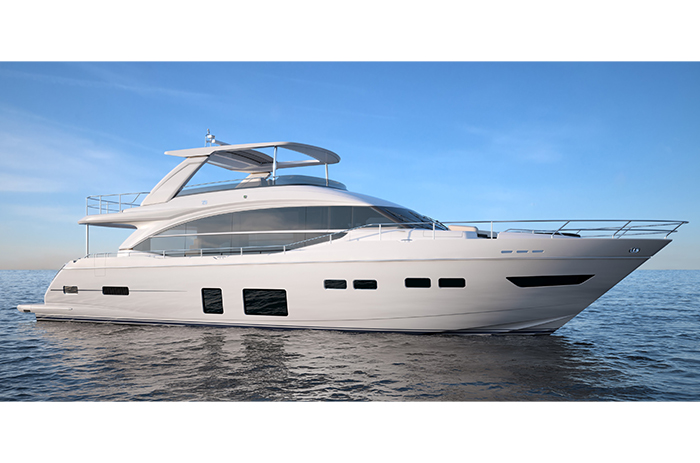 New princess 75 by princess yachts yacht charter for Princess 75 motor yacht