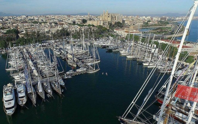 Palma de Mallorca to host the 2016 Palma Superyacht Show from April 28 to May 2
