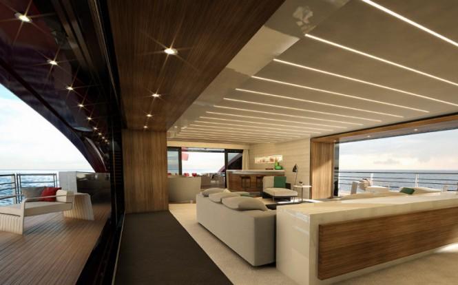 SeaFalcon - Interior