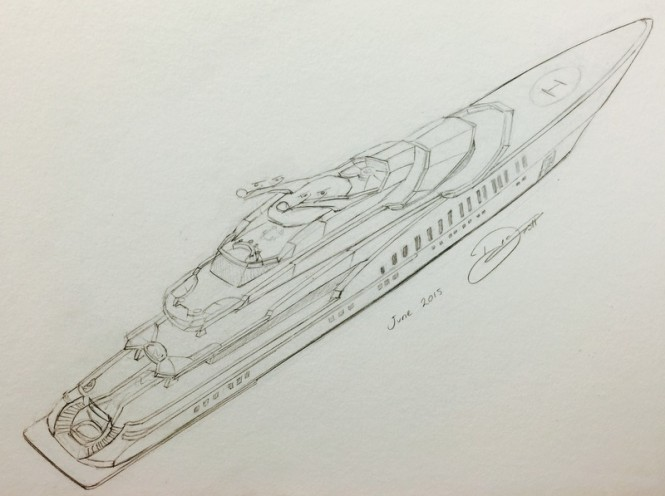 85M Design by Sterling Scott Yacht Design