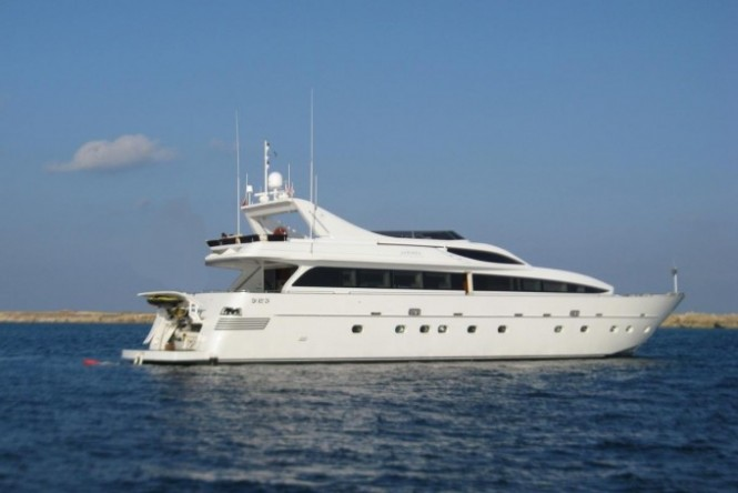 Tropicana available for charter in Greece