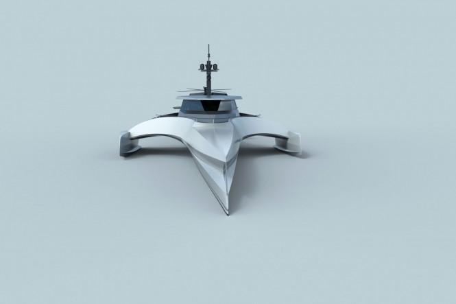 XPLORE 70 design - front view