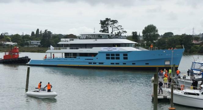 YN1016 on the water