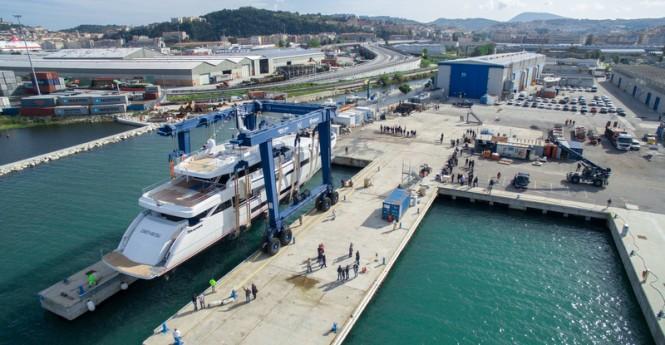 WIDER Yachts and ISA shipyard