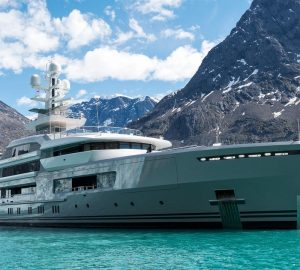 Photos of 72,5m Expedition Yacht CLOUDBREAK at launch