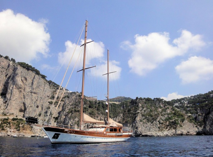 DON CHRIS available for charter in the West Med