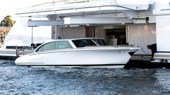 Hodgdon Yachts - Limo Tender for Motor Yacht INFINITY