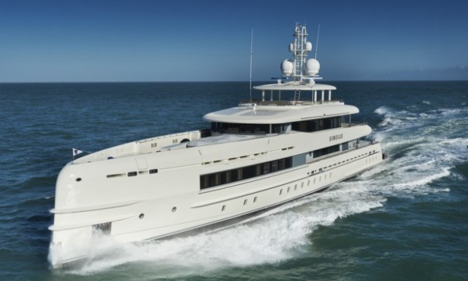 Superyacht Sibelle by Heesen Yachts - Photo by Richards Vision and Heesen Yachts