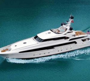 8 Nights Yacht Charter for the Price of 7 in The Bahamas, Florida, and the Caribbean aboard 50m USHER (ex Mr Terrible)