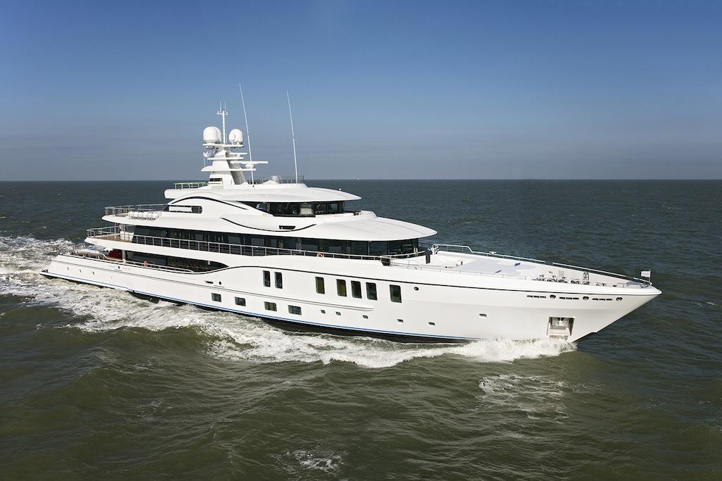 AMELS 242 Motor Yacht — Yacht Charter & Superyacht News