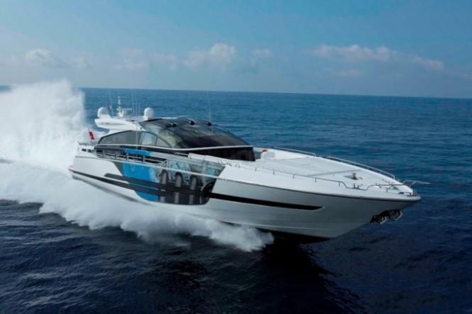 High performance superyacht Astro: max speed 50 kn