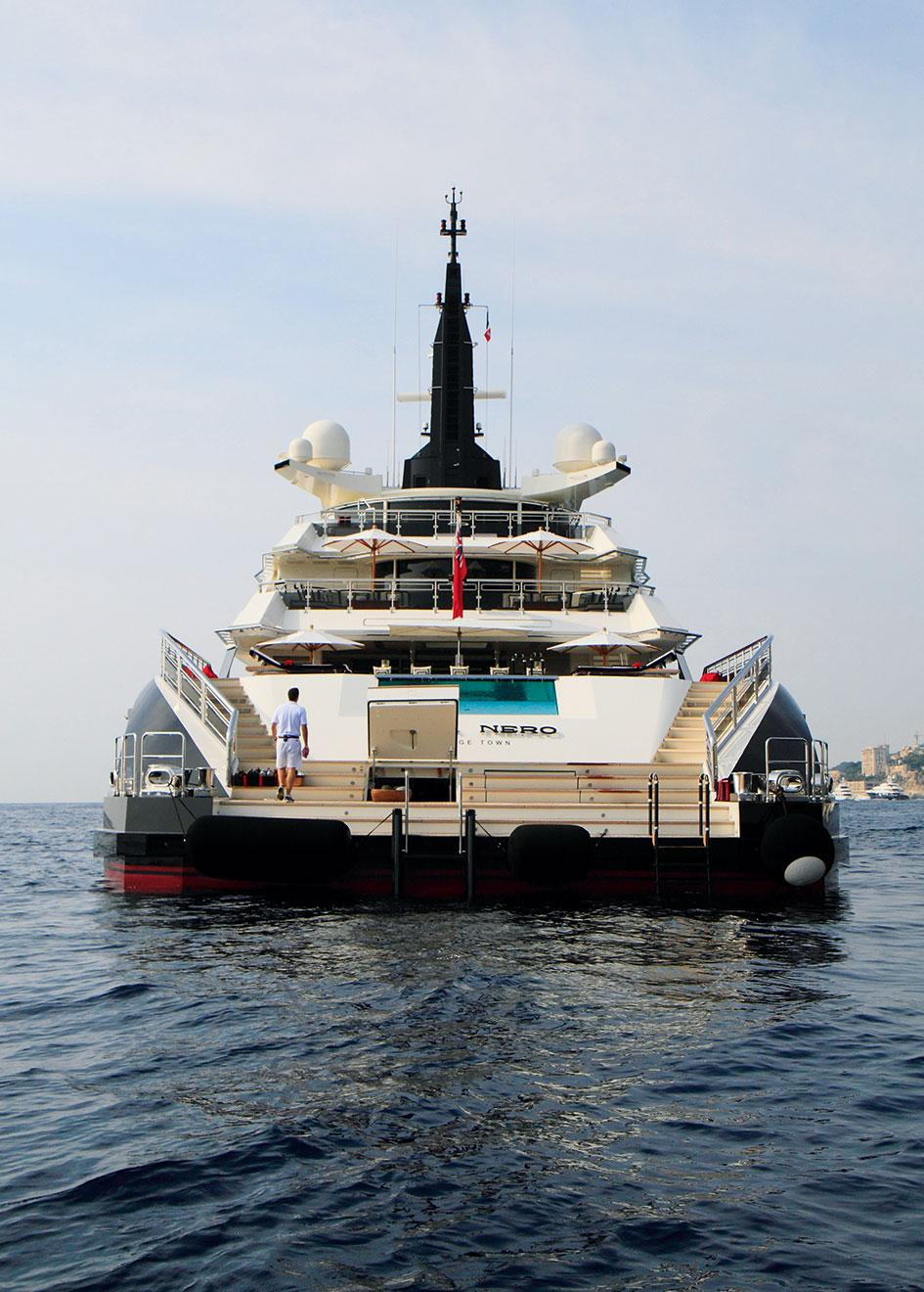 the alfa nero aft view  u2014 yacht charter  u0026 superyacht news