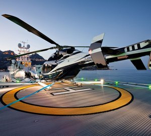 The Hottest Helicopter Decks on Private Yachts