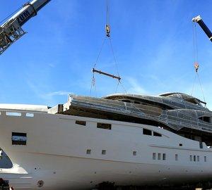 Bilgin Yachts Join Hull & Superstructure of 47.6m Bilgin 156-II superyacht