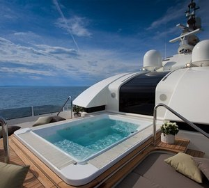 World's Largest Pools on a Privately Owned Superyacht