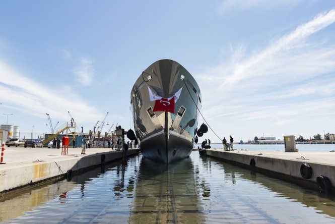 Launching of SARP 46 - Photos  by Hakan Yesil