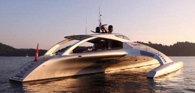 Motor Yacht ADASTRA - a McConaghy Boats Trimaran Superyacht