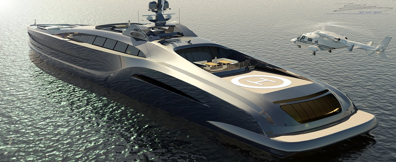 The Hottest Helicopter Decks on Private Yachts — Yacht