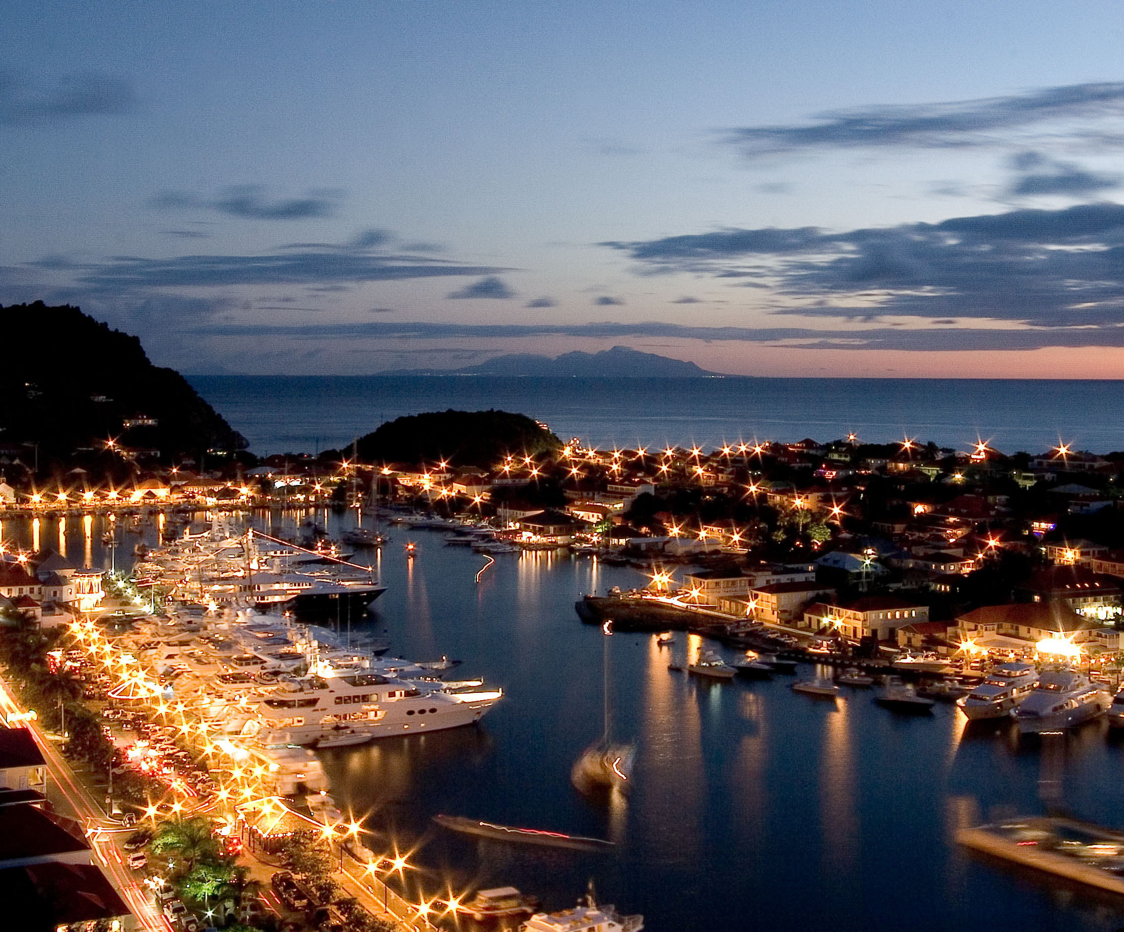 Port of Gustavia, St Barts
